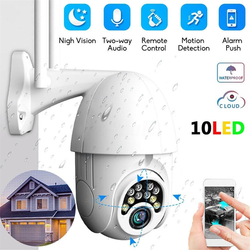 Cámara IP Onvif inalámbrica para exteriores, cámara de vigilancia de seguridad con...