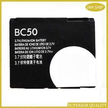 BC50 700mAh batterie De Haute Qualité Pour Motorola Moto RIZR Z3 ROKR Z6m SLVR L2 L6 L7 KRZR K1 K2 R1 Z1 Z3 E8 Téléphone Portable