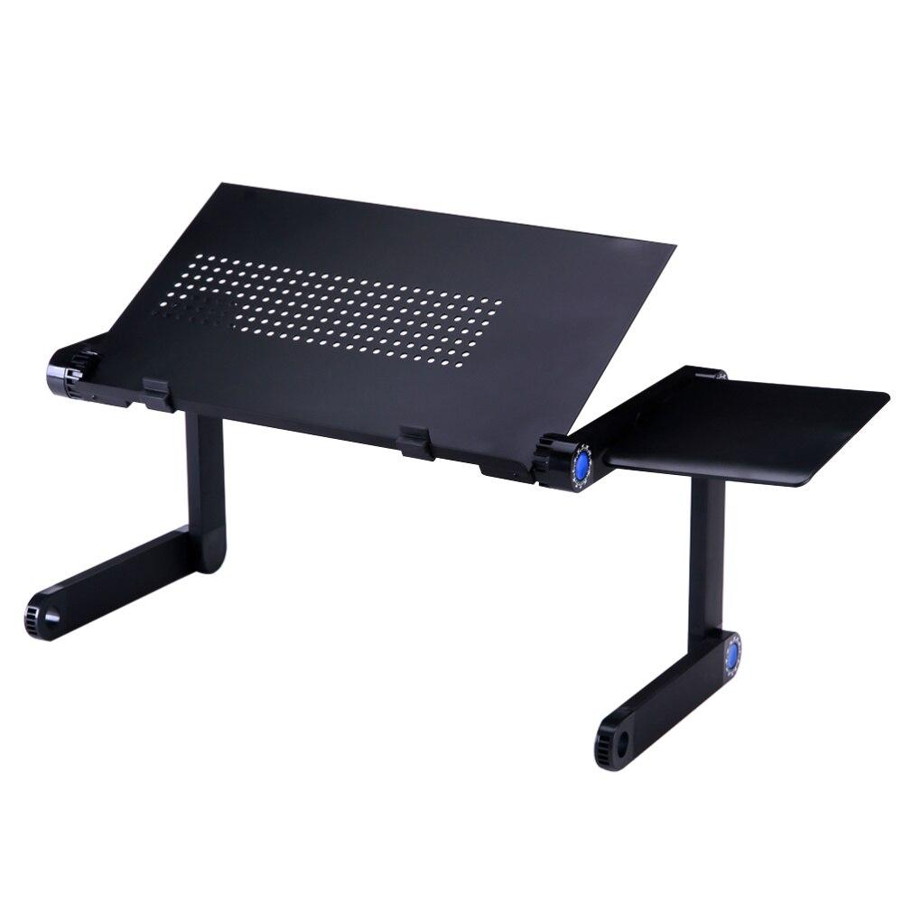 محمول قابل للتعديل الألومنيوم مكتب للحاسوب شخصي حامل الجدول تنفيس مريح الوقوف مع المجلس