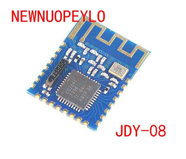10 قطعة JDY-08 بليه بلوتوث 4.0 Uart مثبت جهاز إرسال واستقبال CC2541 التبديل المركزي وحدة لاسلكية كلمة السر ibeam