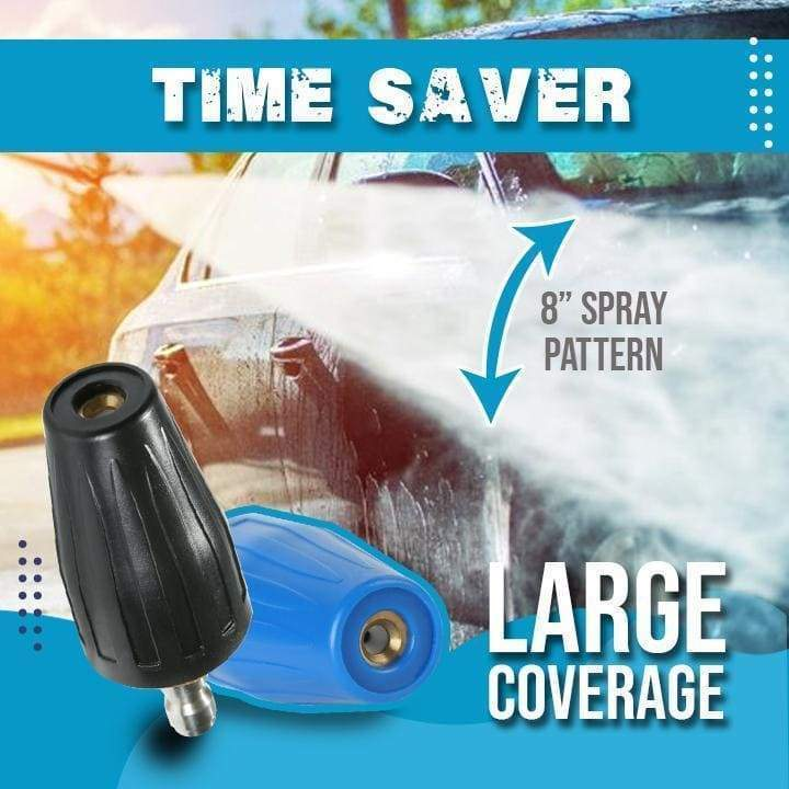 360 Degree Rotating High-Pressure Turbo Nozzle Portable High-pressure Water Gun Car Washer For High Pressure Washer Cleaner Acce enlarge