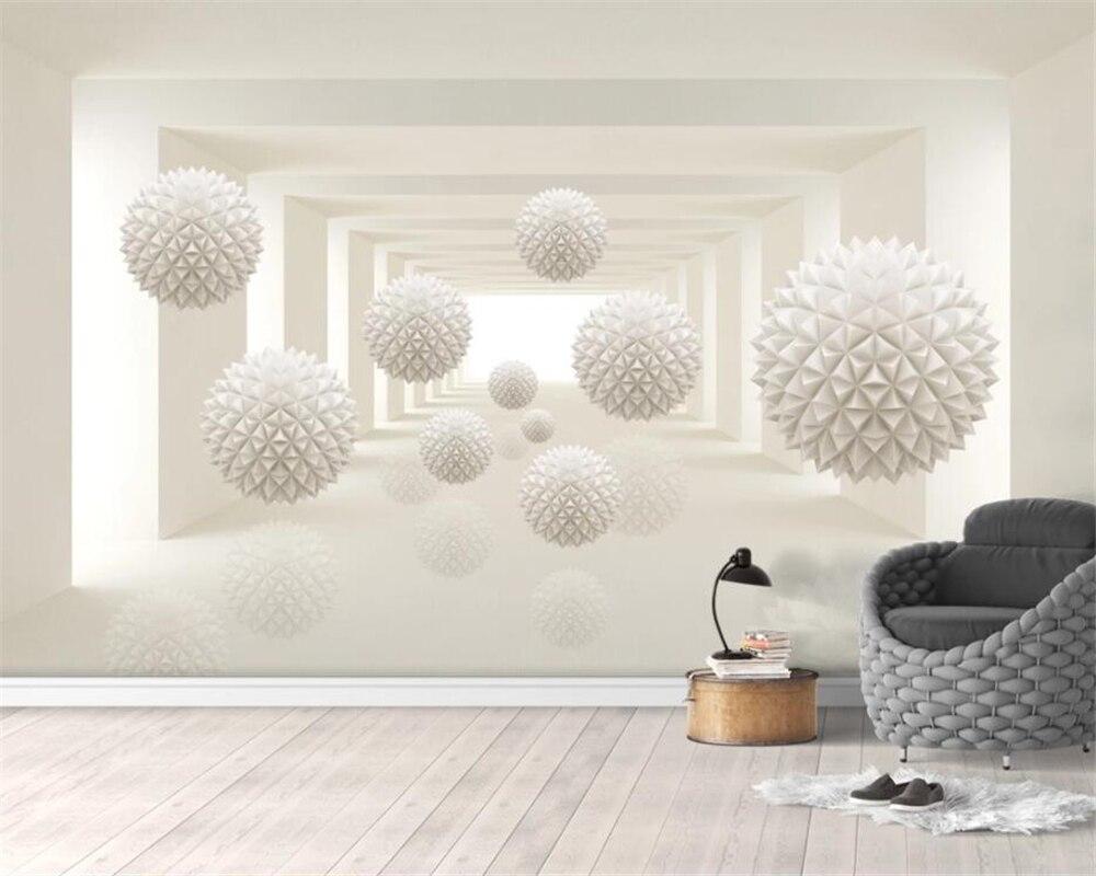 Papel pintado de pared grande para sala de estar papel pintado 3d TV Fondo 3D