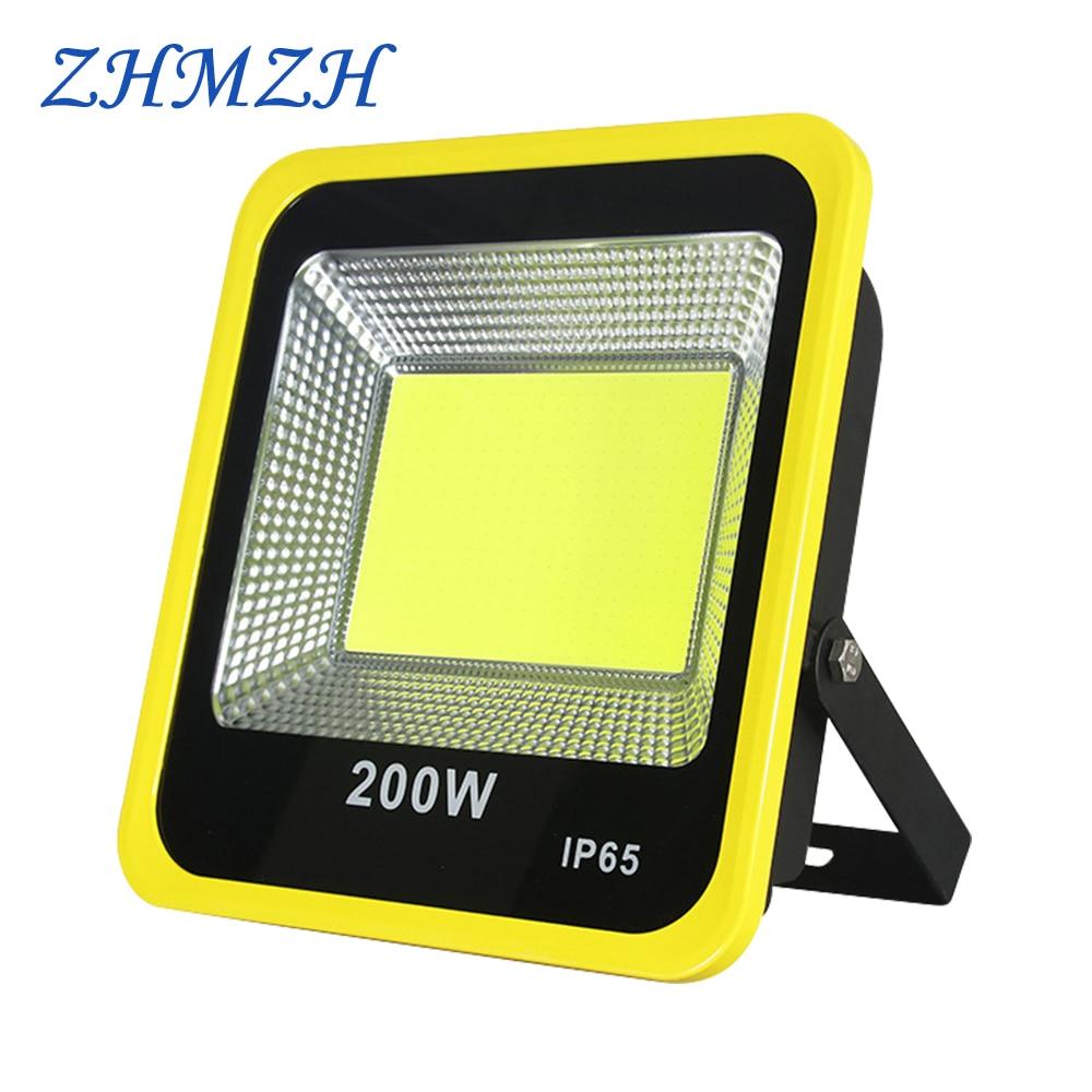 مصباح كشاف LED خارجي ، 110 فولت ، 220 فولت ، 20 واط ، 30 واط ، 50 واط ، 100 واط ، 150 واط ، 200 واط ، IP65 ، مقاوم للماء ، فائق السطوع