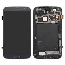 Voor Samsung Galaxy Mega 6.3 i9200 i9205 Touch Screen Panel Digitizer + Lcd-scherm Monitor Panel Module Assemblage + Gratis gereedschap