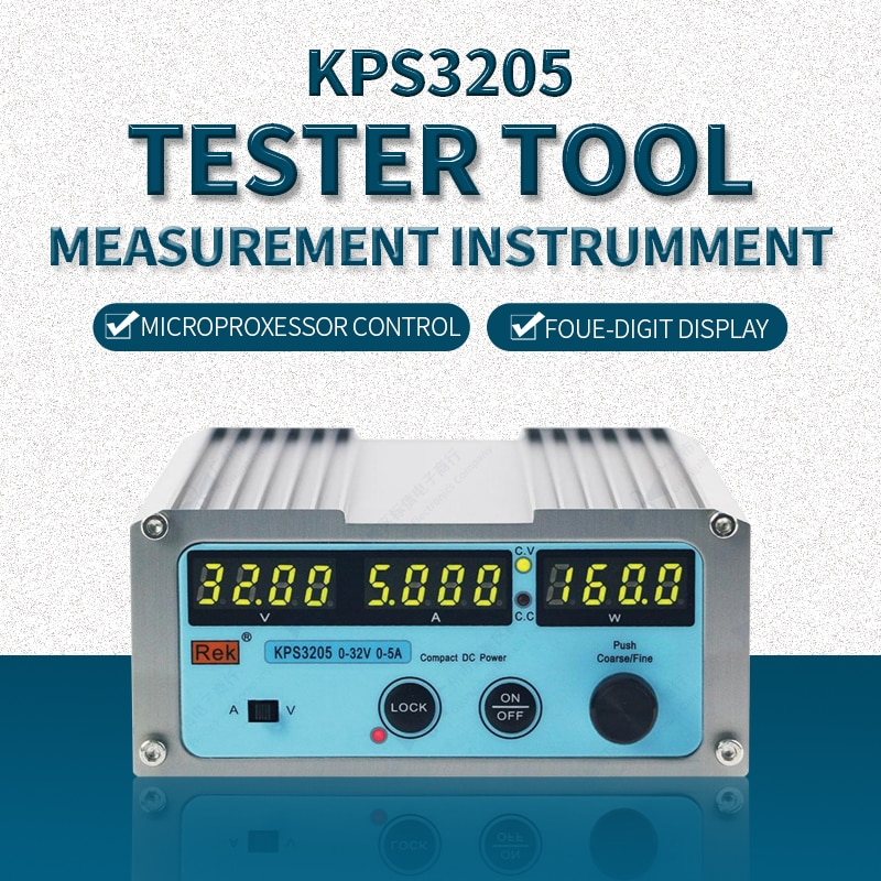 KPS3205 Adjustable Digital Switch DC Linear Power Supply Laboratory Power Feeding Multifunctional Tool