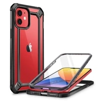 for iphone 12 mini case 5 4 inch 2020 release supcase ub exo pro hybrid clear bumper cover with built in screen protector