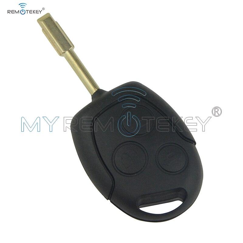 Дистанционный ключ для Ford Focus Transit Connect 2001 2002 2003 2004 2005 ID60 433Mhz FO21 3 кнопки 98AG15K601AD Remtekey