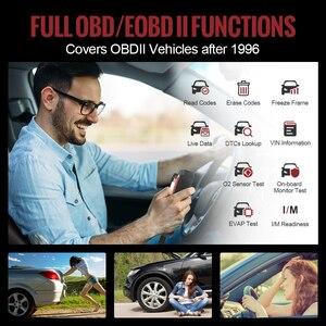 Image 5 - THINKCAR Thinkscan Plus S4 бессрочный, бесплатный, опциональный, 3 перезаправки, автомобильный диагностический инструмент ECM/TCM/ABS/SRS/BCM система, OBD2 автомобильный сканер