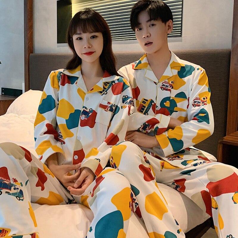 Мужчины% 27 пижама комплект осень зима теплые мужские пижамы комплект простые одежда для сна длинный рукав хлопок пижамы для мужчин топ брюки досуг верхняя одежда