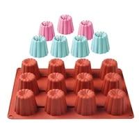 new 12 cavity canneles shaped silicone cake mold cookies 3d diy handmade kitchen baking tools decorating mousse making mould