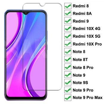 Verre trempé 9H pour Xiaomi Redmi 9 8 8A 10X verre de protection d'écran Redmi 10X Note 8 8T 9S 9 Pro Max verre de protection de sécurité