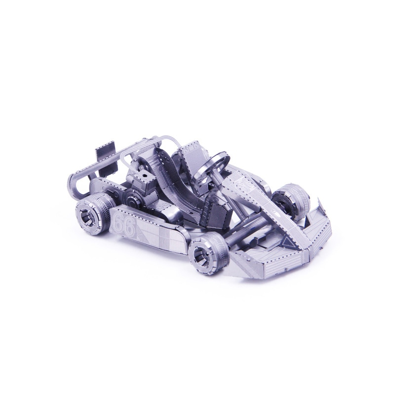 Rompecabezas 3D DIY de metal KART, mini modelos de colección, juguetes de...