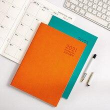 2021 Agenda Planner Organizer A5/B5 노트북 및 저널 Office Note Book 주간 월간 계획 일정 여행 수첩