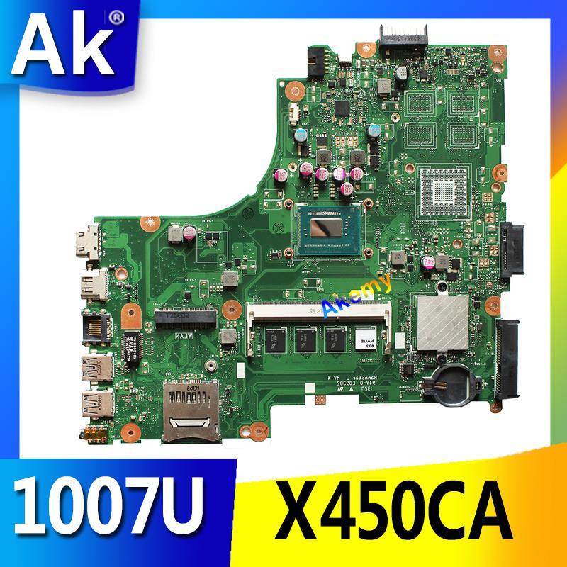 AK Für Asus X450CC X450CA Motherboard mit 1007U cpu 2GB speicher