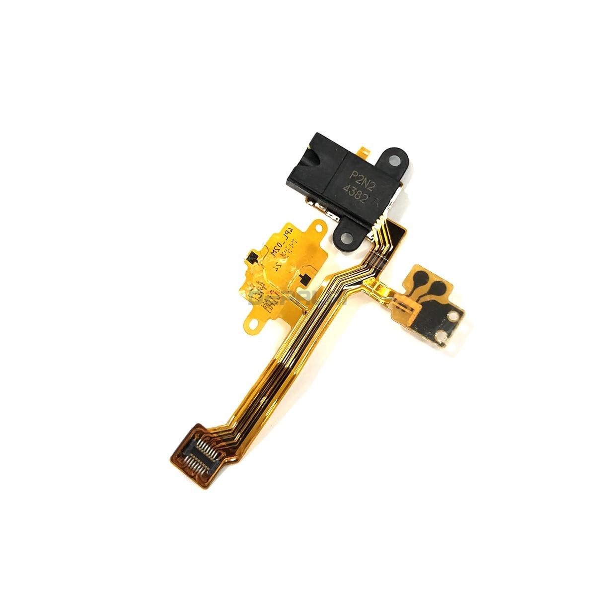 Auriculares Audio Jack de reemplazo de cable flexible reparación de piezas de repuesto para Nokia Lumia 925, 630, 638, 920, 1520, 820, 930, 1020, 520, 720 teléfono