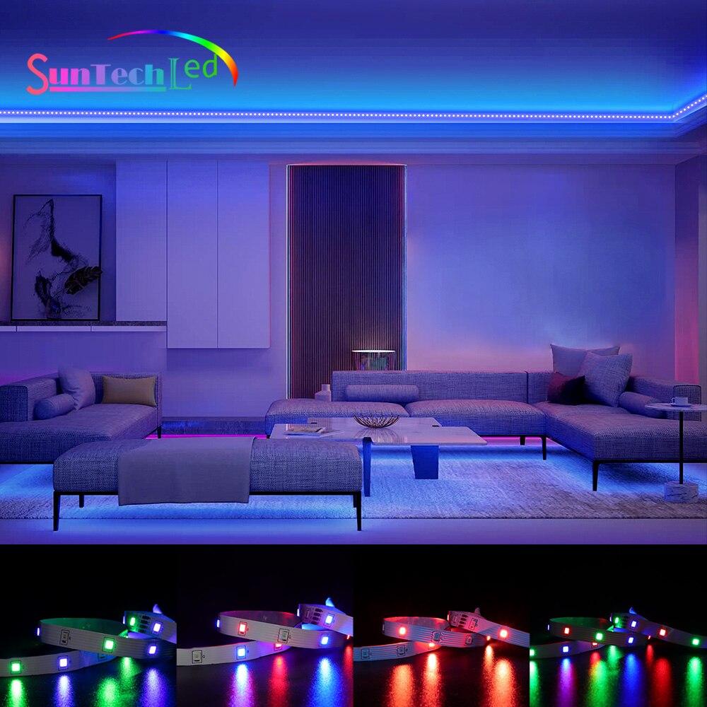 suntech-tira-de-luces-led-smd-2835-rgb-iluminacion-flexible-diodo-de-cinta-para-tv-dormitorio-decoracion-de-vacaciones-con-control-por-aplicacion