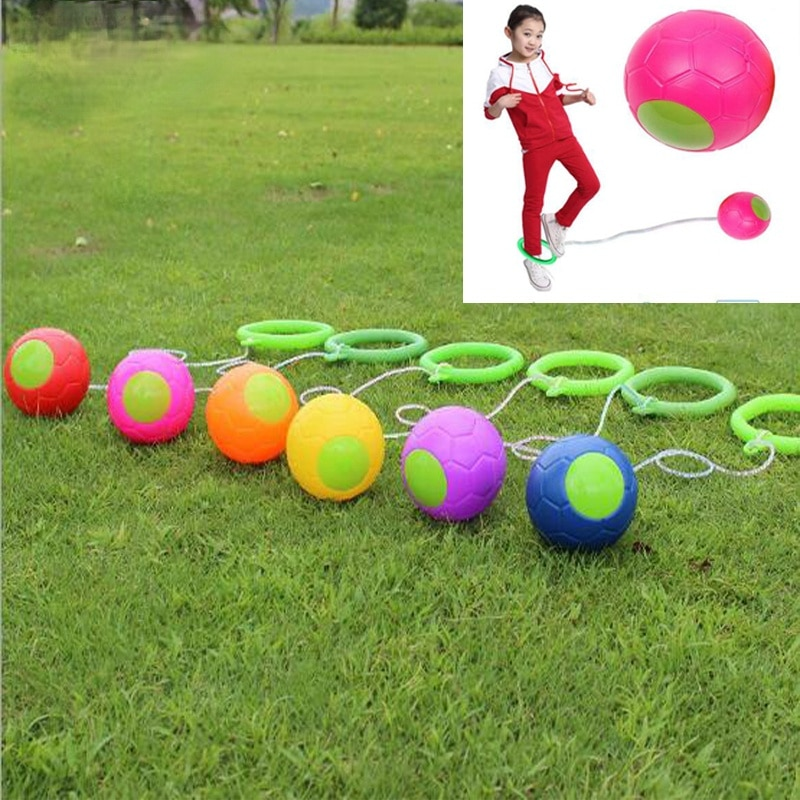 1PCS kip Ball Outdoor Fun Toy Ball Classical Skipping Toy Exercise coordination and balance hop jump playground may toy ball