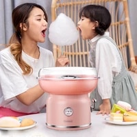 home diy sweet electric cotton candy maker portable cotton sugar floss machine girl boy gift childrens day marshmallow machine