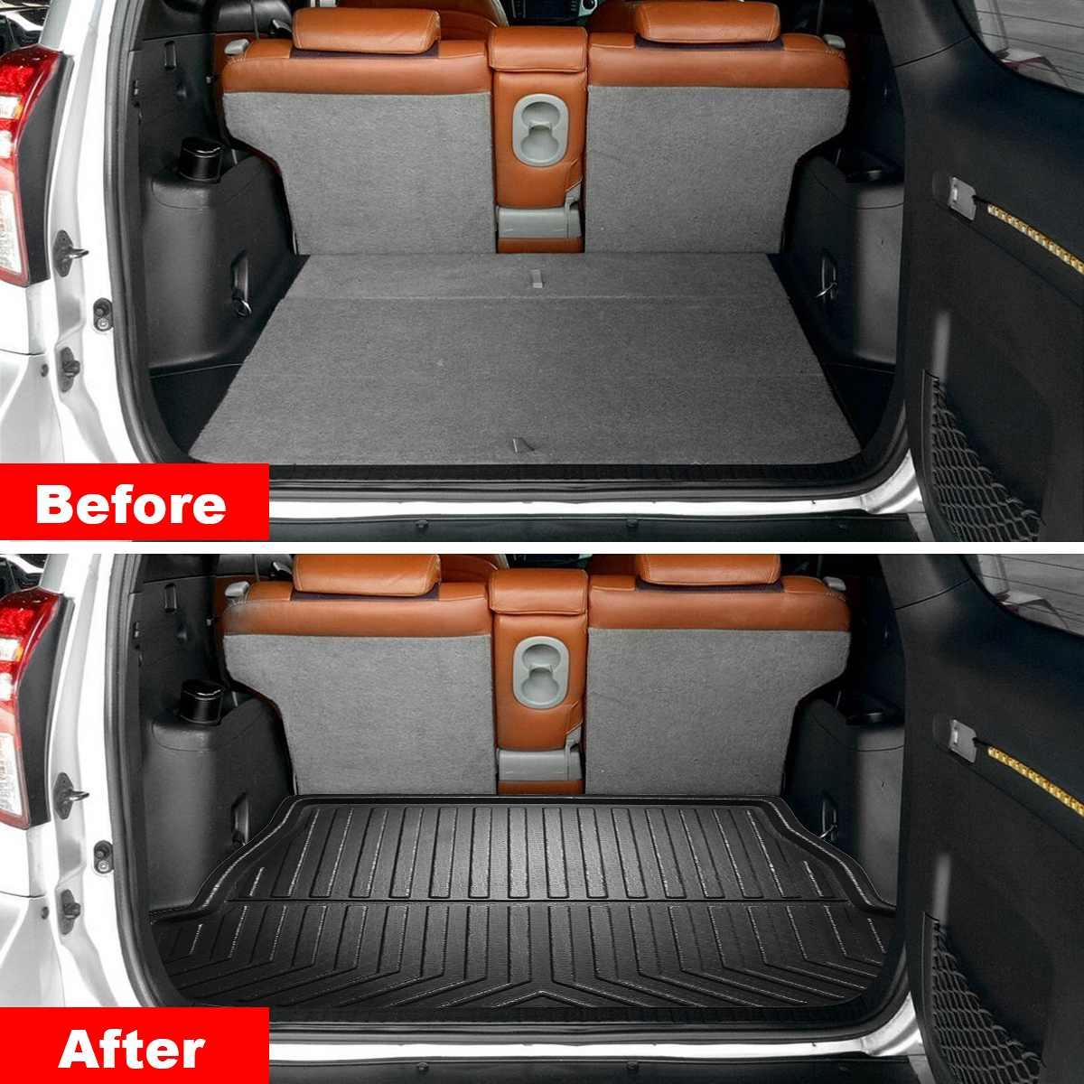AUTO para cubierta de maletero Matt Mat de carga de arranque bandeja piso alfombra tiro Pad barro antideslizante Anti-polvo para Toyota RAV4 2019 2020 XA50