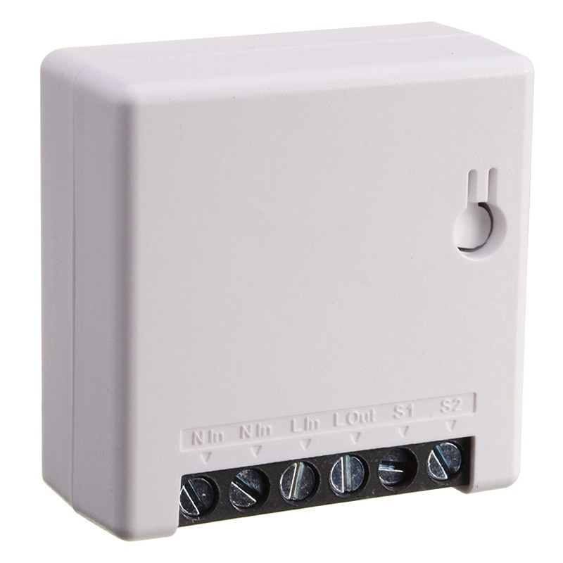 Mini DIY Smart Switch Boxes WiFi Intelligent Switch Home Appliances Wifi Voice APP Remote Control  Smart Home Automation