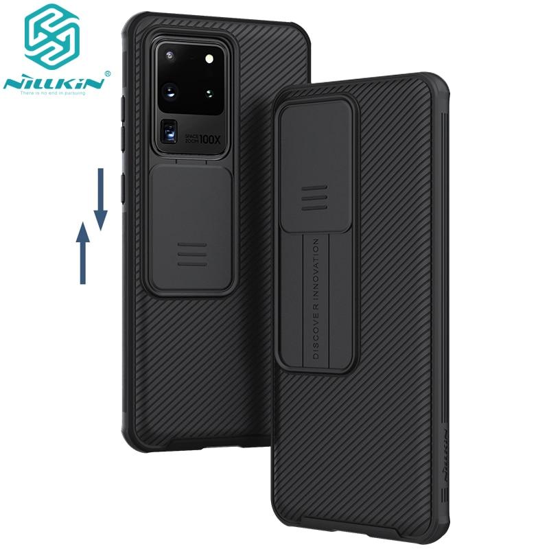 Чехол для телефона samsung Galaxy S20/S20 Plus /S20 Ultra A51 A71, защитный чехол NILLKIN для камеры, защитный чехол для объектива