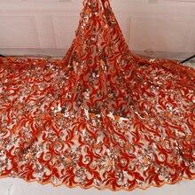 NIAI africain velours dentelle tissu 2020 haute qualité dentelle plus récent mariage nigérian français dentelle matériel pour les femmes robe NI2682-7