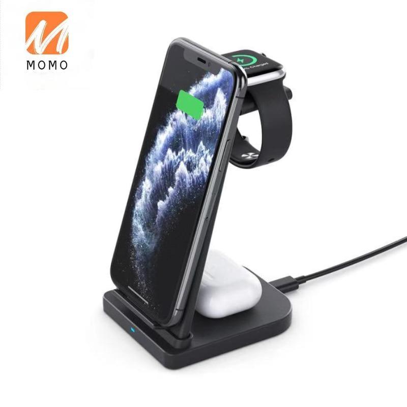 Зарядное устройство 3 в 1 мобильный телефон Зарядное устройство 15 Вт Беспроводной Зарядное устройство Беспроводной зарядки