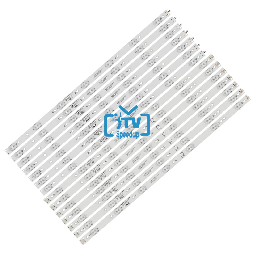 14 قطعة/set100 ٪ جديد LED شريط إضاءة خلفي ل فيليبس 55 التلفزيون 55pug6102 55pug610 2/78