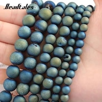 green open mouth stone beads 6810mm natural stone beads round loose beads for diy making bracelet necklace jewelry beadtales