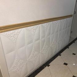 Adesivo decorativo autoadesivo 3d, adesivo de borda, saia, linha de mural