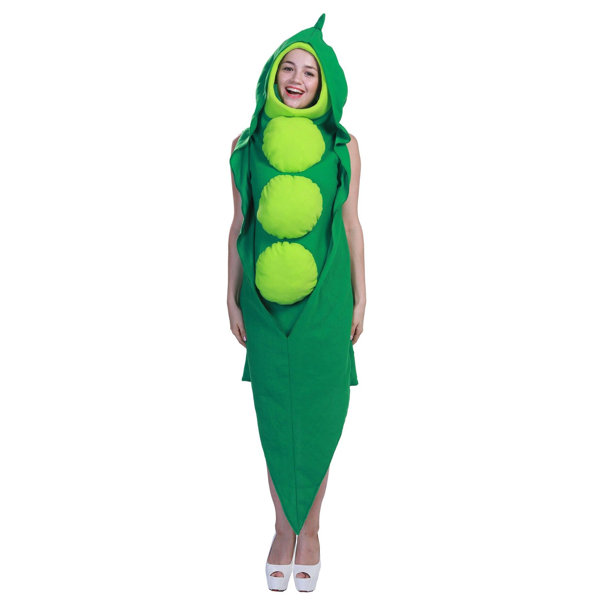 Nuevo adulto de cosplay anime traje de Halloween para las mujeres los hombres frutas y verduras planta verde fiesta de Carnaval vestido