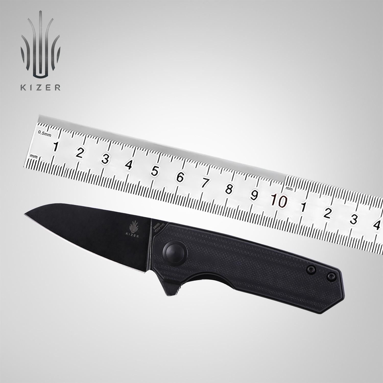 Kizer-سكين صيد خفيف الوزن ، أداة تخييم خارجية ، طراز V2541N2/N4/N5 Lieb 2021