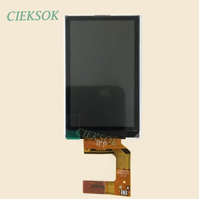 Panel de pantalla LCD para Garmin Alpha 100 Display LM1561C01-1C GPS Handhled Navigator LCD Pantalla de repuesto táctil escrito a mano