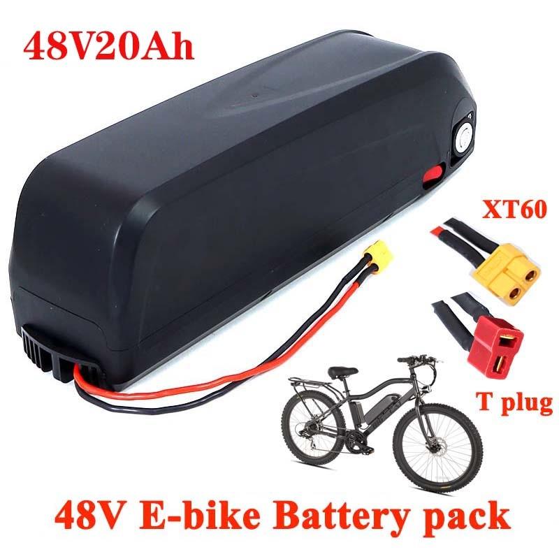 48v20 13S 18650 eBike بطارية Hailong الحال مع USB 1000 واط دراجة نارية تحويل عدة Bafang دراجة كهربائية الولايات المتحدة الاتحاد الأوروبي واجب الحرة
