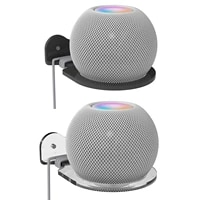 Support Etagere Support Mural Support Stable Pour HomePod Mini Support Mural Cintre Pour HomePod Mini Echo Dot 4 3 Gen Haut-Parleur