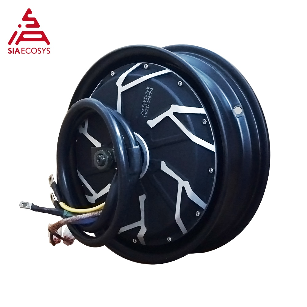 QS Motor 12x2.5&3.5inch 3000W 260 V4 72V 90kph BLDC motor with KLS7230H controller  in wheel hub motor kits for ectric scooter enlarge