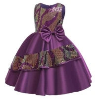 christmas pageant sequin dress girl kids dresses for girls gown children clothing party evening dress elegant princess dress
