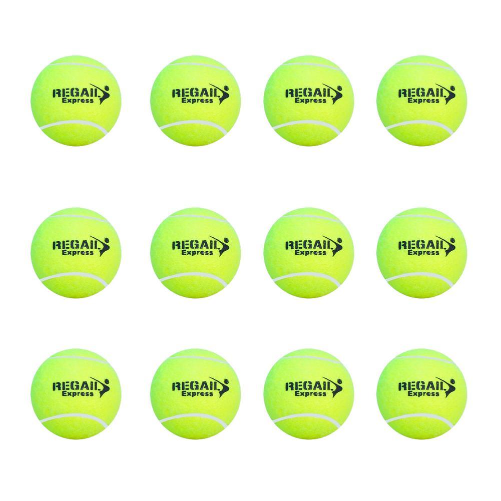 12 шт./компл., теннисные мячи, спортивные мячи для игры в крикет, игрушки для собак, мячи для тенниса, теннисные мячи