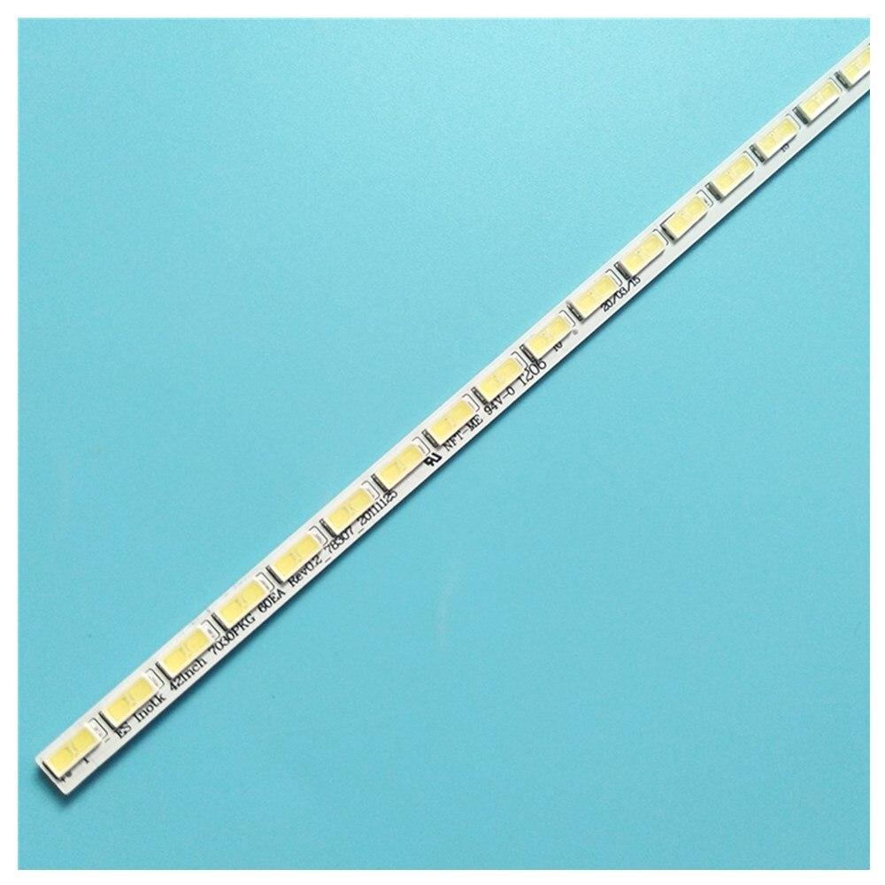 شريط إضاءة خلفية LED 60 مصباح لـ LG Innotek 42 بوصة, 7030PKG 60ea 42LS570S T420HVN01.0 42LD420
