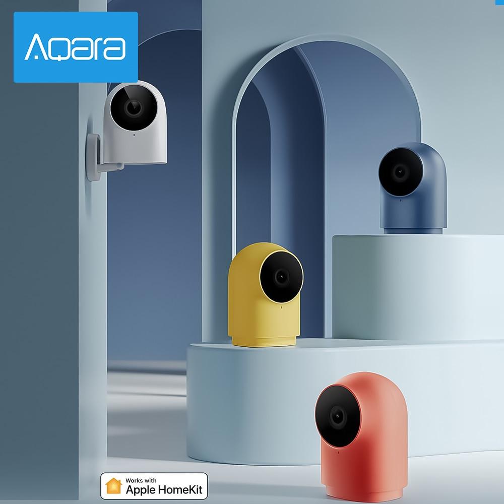 Newst Aqara G2H 1080p Smart Network Camera Gatway Edition 140 Wide Angle Night Vision Zigbee Version Wifi IP Cameraf For Xiaomi