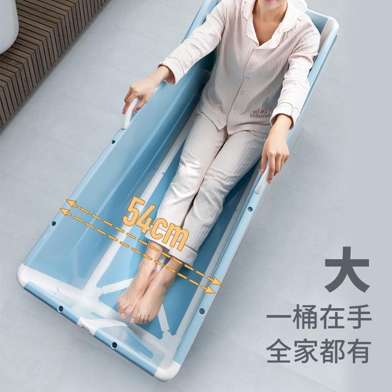 Muthe/Mu من الكبار طوي حمام برميل الكبار المتضخم دلو المنزلية اسطوانة كامل الجسم حوض