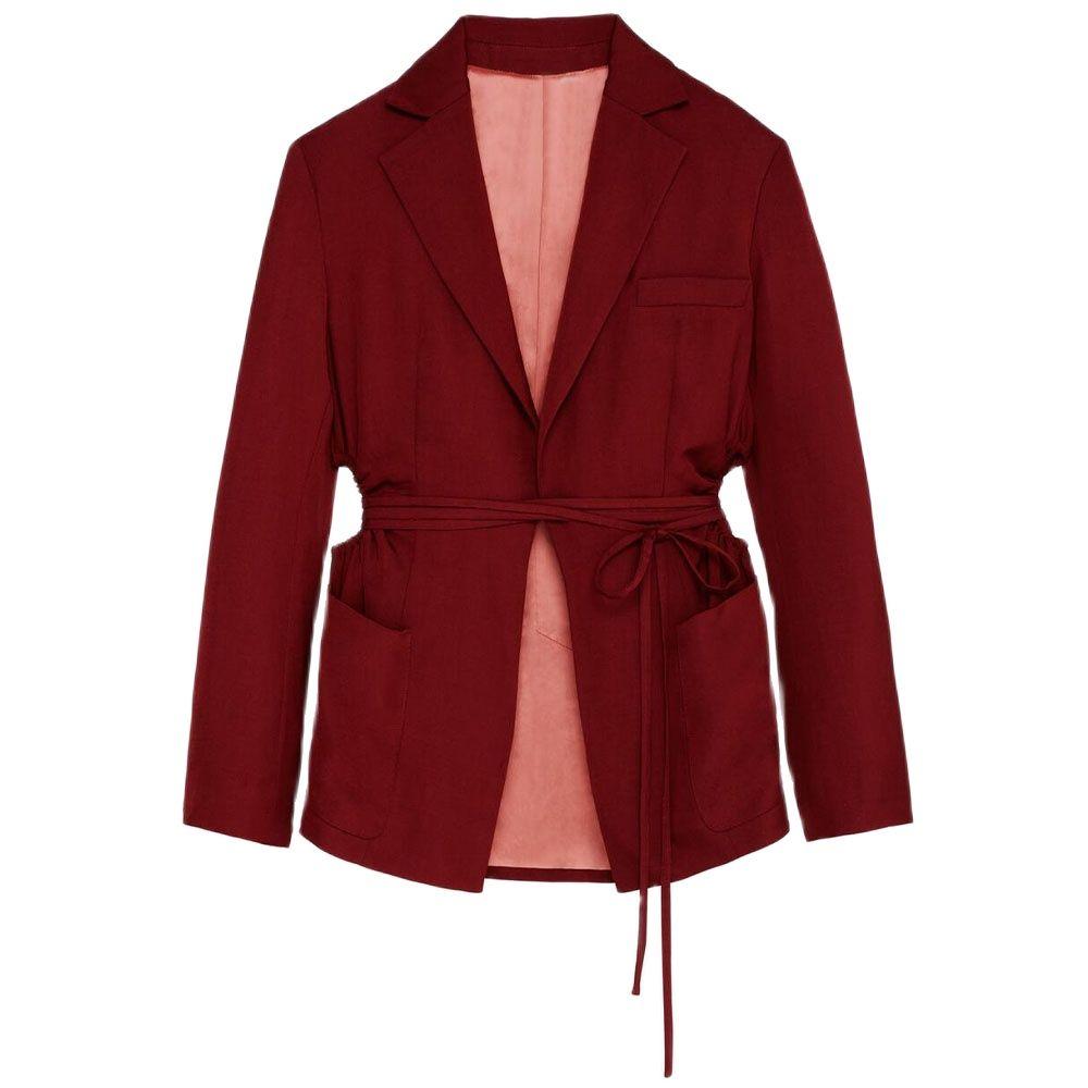 DiYiG امرأة 2021 الربيع و الصيف جديد المرأة ارتداء bowknot الدانتيل متابعة سبليت تصميم التلبيب عادية بزة بأكمام طويلة سترة