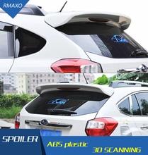 Für Subaru XV Spoiler ABS Material Auto Hinten Flügel Primer Farbe Heckspoiler Drücken Sie den schwanz Für Subaru XV Spoiler 2013-2016