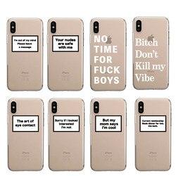 Положительный хороший Vibe Happy Trust Забавный Цитата мягкий чехол для телефона Fundas Coque чехол для iPhone 11 Pro 7Plus 7 6S 8 8Plus X XS Max