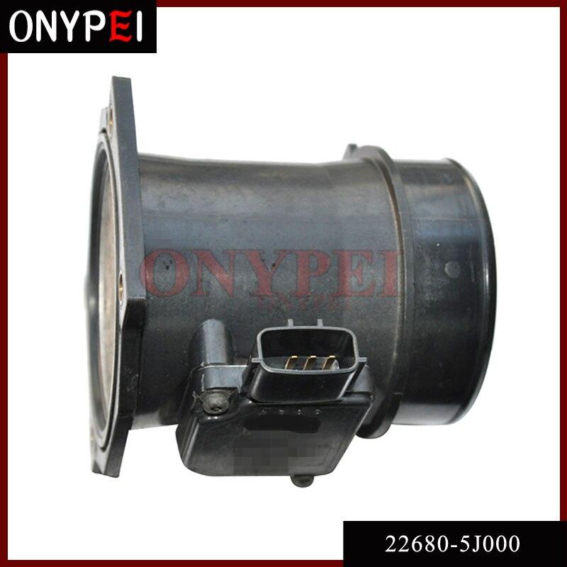 Medidor de flujo de aire masivo 22680-5J000 para Nissan Pathfinder 97-00 Infiniti QX4 3,3 226805J000 AFH70-16