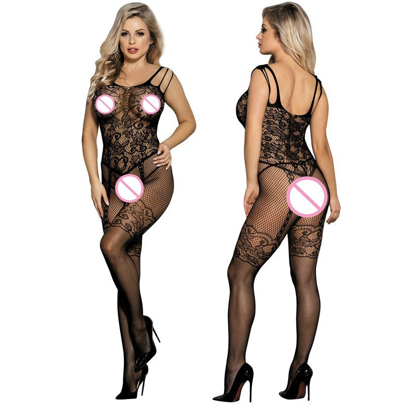 Sexy Mesh Novelty & Special Use Sexy Clothing Sexy Underwear Exotic Apparel Jumpsuit Full Body Stock