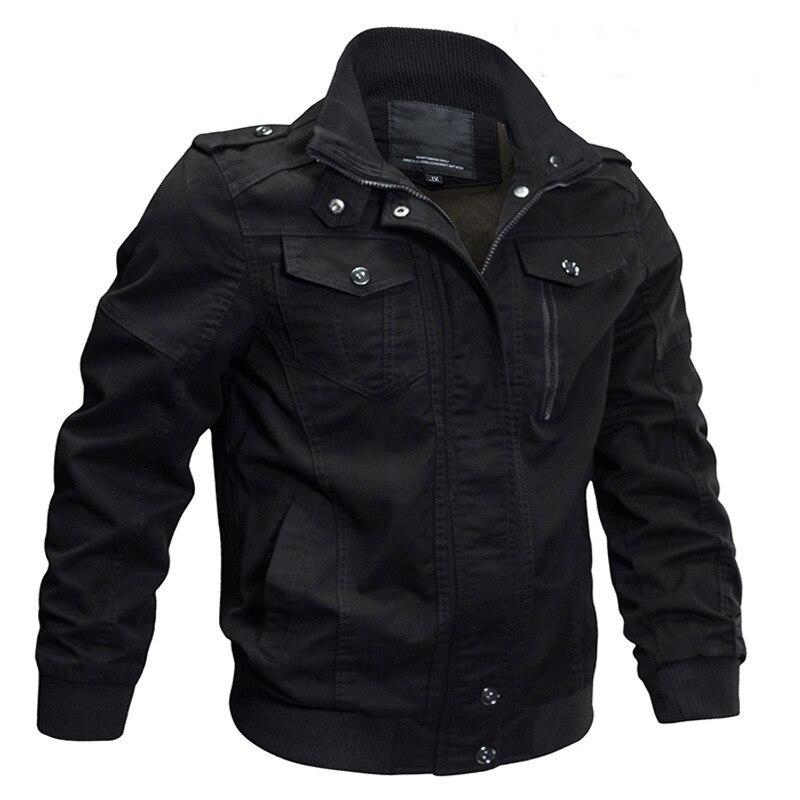 Autumn and winter men's stand collar cotton wash slim coat large casual jaet men's