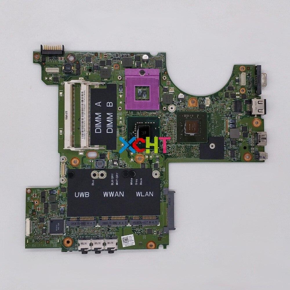 Placa base probada para ordenador portátil, CN-0X853D 0X853D X853D DDR2 para Dell...