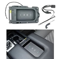 custom wireless charging tray liner accessories for toyota console door pocket inserts kit