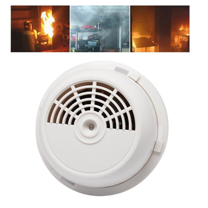 DC12V Portable Combustible Gas Leak Sensor Detector Natural Gas Alarm Warning